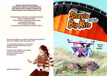 Shayla and the Big Kite – Easy-reading adventure for G2-4 remedial reading