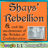 Shays' Rebellion & the Weaknesses of the Articles of Confederation! Google 1:1!