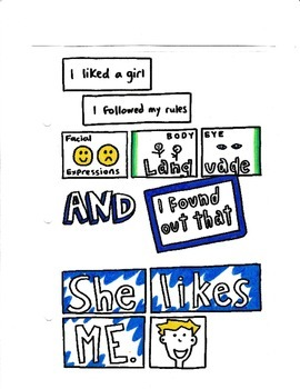 She Likes Me! - Social Story
