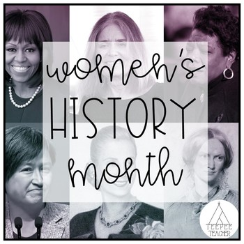 She Persisted and other Women's History Month activities
