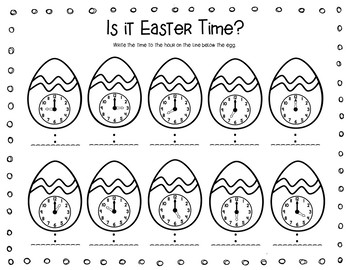 She Swallowed What? A Chick! Easter Math, Literacy and Crafts