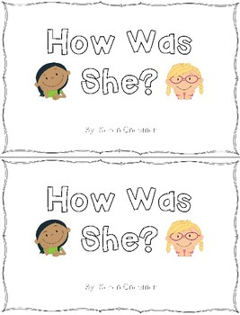 She Was Sight Word Books for Classroom Library