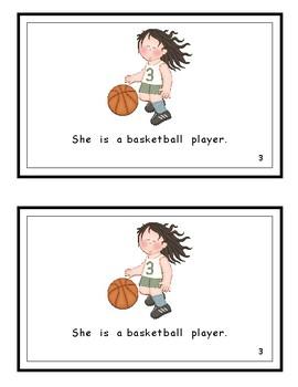 She is . . . Wonders Kindergarten Reader (Unit 6)