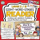 Guided Reading: Level B Community Helper Sight Word Reader