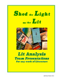 Shed the Light on the Lit - Literary Analysis Team Presentations