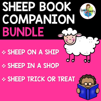 Sheep Book Bundle: 3 Book Companions