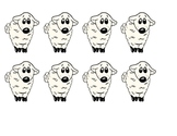 Sheep Color Match Game