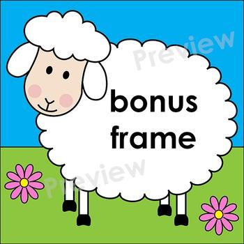 Clip Art Sheep | Clipart Frames