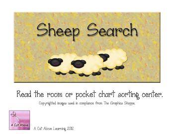 Sheep Search- sort digraph sh