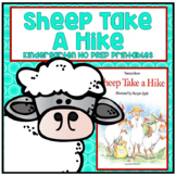 Sheep Take a Hike Kindergarten NO PREP Supplemental Readin