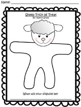 Language and Literacy Lesson: Sheep Trick or Treat