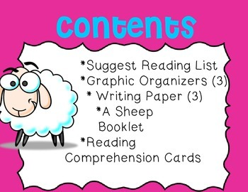 Sheep Unit~ Includes Graphic Organizers & Much More!