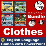 BUNDLE Sheep Vs. Penguins. English PowerPoint Vocabulary G