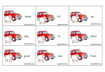 Sheep in a Jeep: A Phonemic Awareness Book Companion