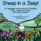 Sheep in a Jeep - A Language/Literacy Book Companion #SPRI