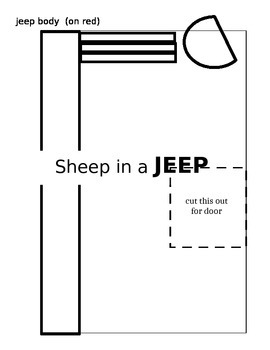 Sheep in a Jeep Craft