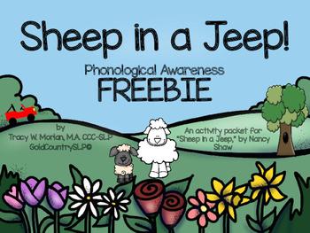 Sheep in a Jeep FREEBIE