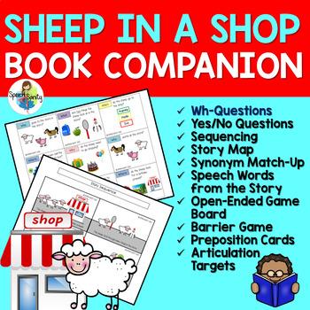 Sheep in a Shop: Book Companion