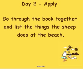 Sheep on a Beach Guided Reading Lessons - Four Blocks Literacy