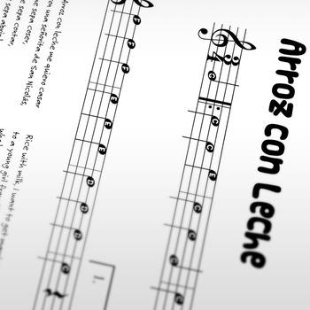 Sheet Music: Arroz con Leche (Children's Song)