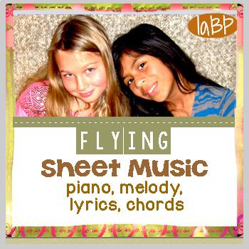 Sheet Music: Flying self esteem and team spirit song