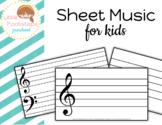 Sheet Music For Kids