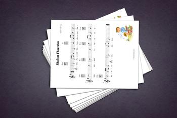 Sheet Music: Shalom Cheverim (Israel Folk Song)