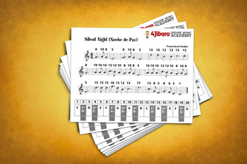 Keyboard Sheet Music: Silent Night (Christmas Music)