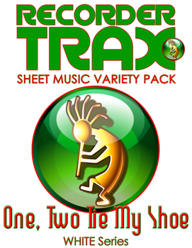 Sheet Music Variety Pack - One, Two, Tie My Shoe