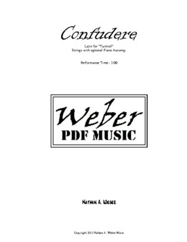 Sheet Music for School Orchestra
