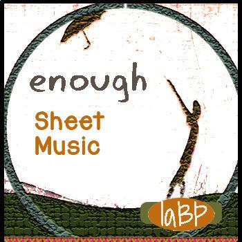 Piano Sheet Music: Enough peace song