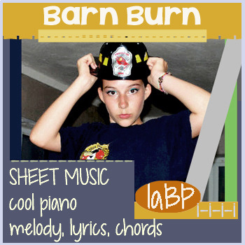 Sheet Music: Barn Burn