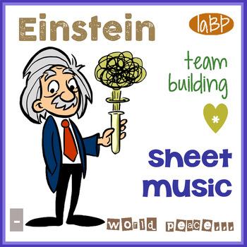 Sheet Music: Einstein