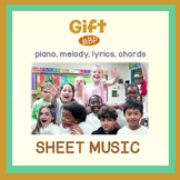 Sheet Music - Appreciation Pop Song