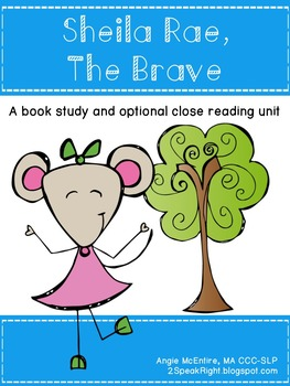 Sheila Rae, The Brave: A Book Study (And Close Reading Activity)