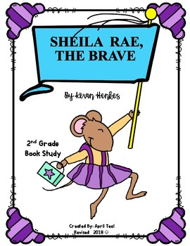 Sheila Rae, The Brave by Kevin Henkes Story Pack