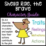 Sheila Rae, the Brave Character Guide: Traits, Feelings, Motivations, Actions