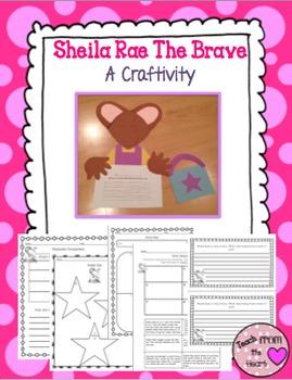 Sheila Rae the Brave Craftivity & Printables