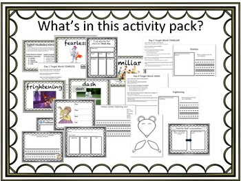 Sheila Rae, the Brave ELA Activity Pack