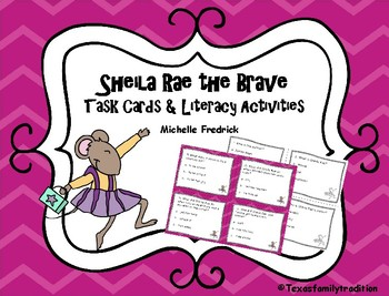 Sheila Rae the Brave Task Cards & Literacy Activities