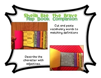 Sheila Rae, the Brave by Kevin Henkes Flapbook Companion and Craftivity