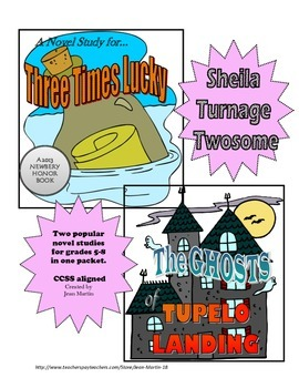 Sheila Turnage Twosome: Three Times Lucky and The Ghosts of Tupelo Landing