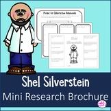 Shel Silverstein Author Study Research Bio Brochure Interactive Notebook
