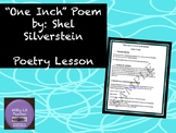 """Shel Silverstein: """"One Inch"""" Poetry Lesson"""