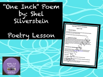 "Shel Silverstein: ""One Inch"" Poetry Lesson"