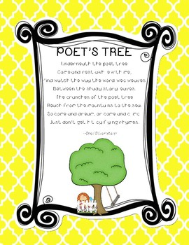 Shel Silverstein Poems FREEBIE!