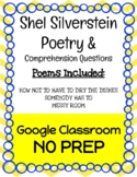 Shel Silverstein Poetry & Comprehension Questions