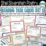 Shel Silverstein Poetry Task Cards (Set 1)
