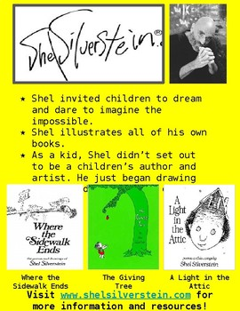 Shel Silverstein Poetry and Illustrator Study