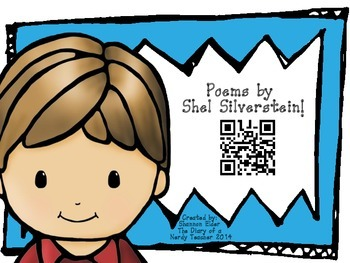 Shel Silverstein QR Readers for Listen to Reading